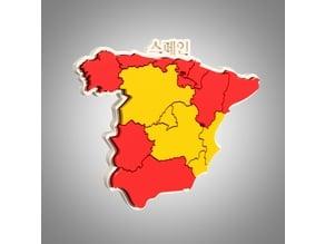 Spain map puzzle