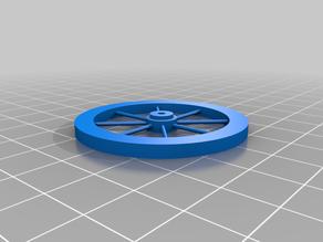 Simple Miniature Wagon Wheel