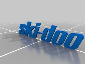 SKI-DOO LETTER