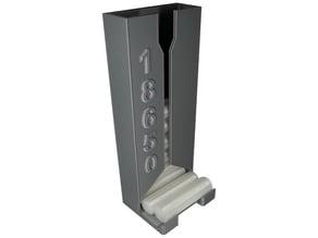 wall mounted 18650 battery dispenser