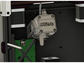 Voron V0 Bondtech LGX bowden mount
