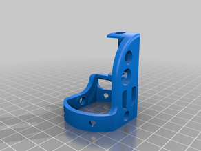 18mm Rocket Engine Gimbal Mount for Thrust Vector Control