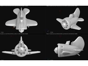 Toy plane - Polikarpov I-16 Ishak