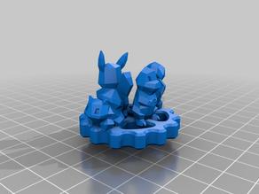Pokemon Extruder Knob