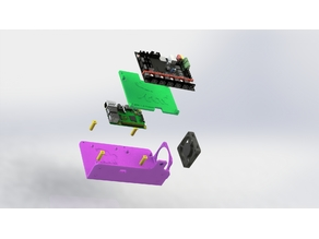 Raspberry Pi, Quad MOSFET and SKR 1.3 Mount to Replace CR-10 Power Supply