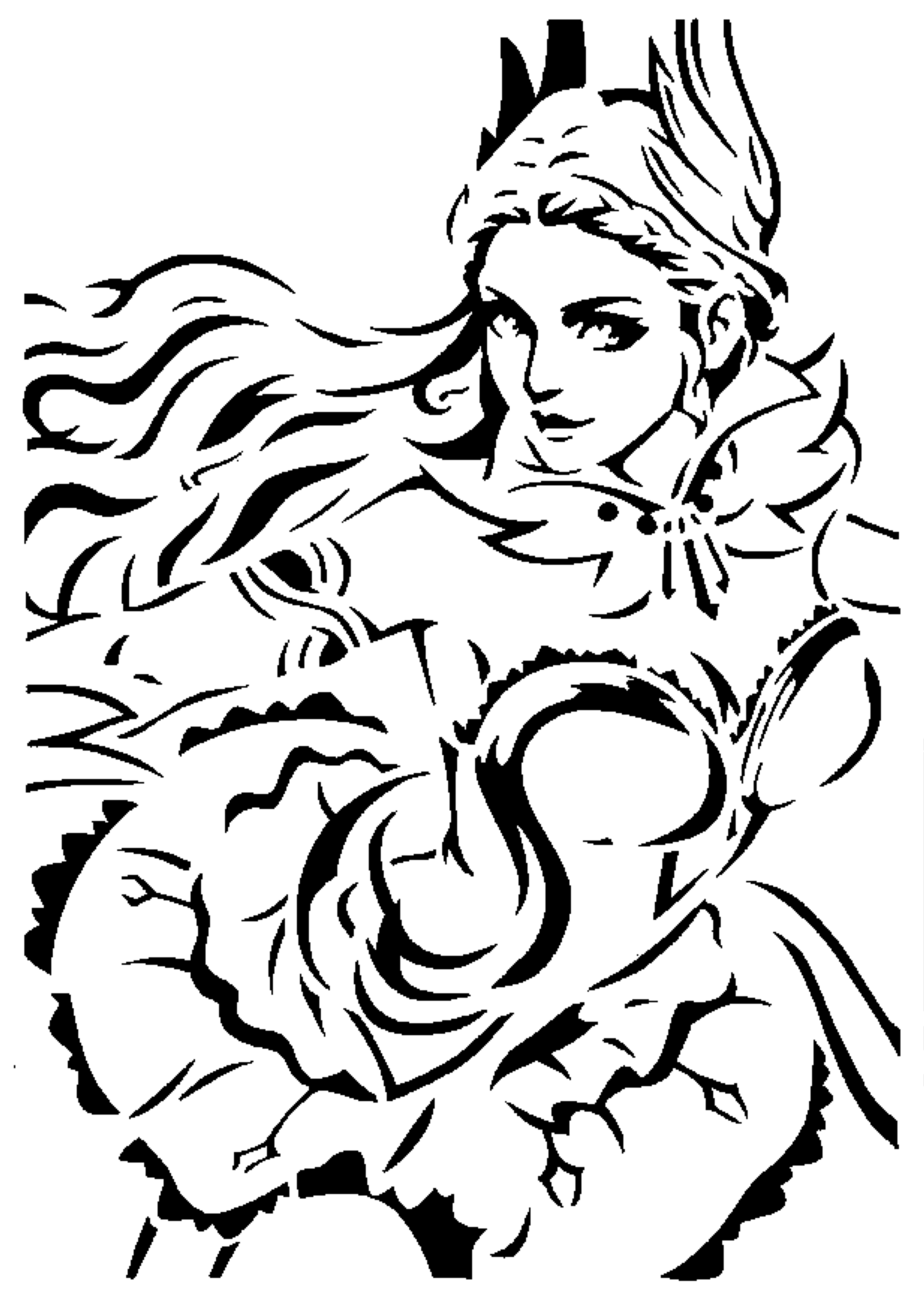 ML Odette stencil