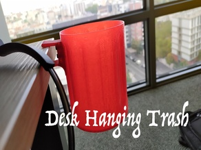 Hanging Desk Trash