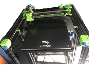 BLV 3D-printer part: 350X350mm heated bed from Creality