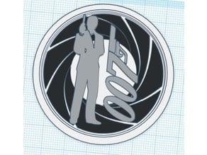 007 Iris Modular Logo Insert