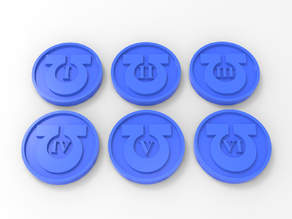 Ultramarines Objective Markers