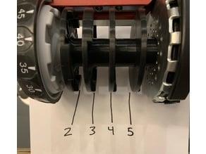 Bowflex Selecttech 552 Series 2 Discs 2, 3, 4 and 5