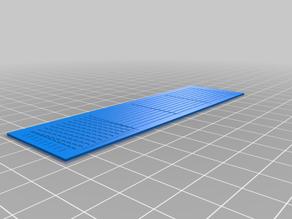 Diagonal Scales Rule