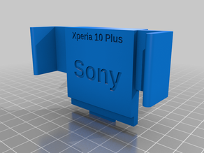 Sony Xperia 10 Plus with cover Charging Dock
