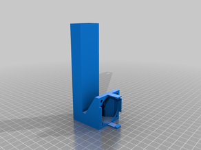 Anycubic i3 Mega 40x40x10 fan duct for stepper drivers