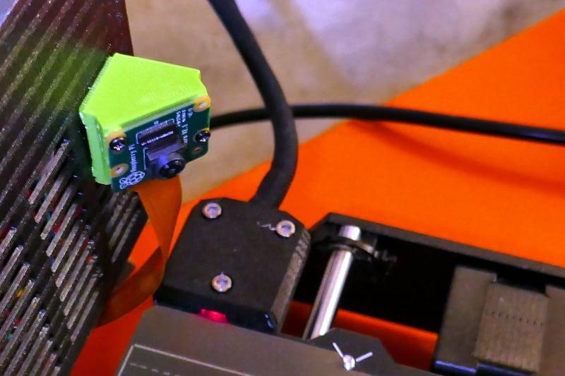 Support fort Raspberry PI Zero Module Cam on Prusa I3 MK3S