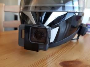 Gopro 5, 6, 7, mount for motorbike helmet