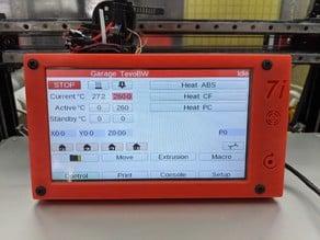 DUET PanelDuo 7i Freestanding Case with RJ11 Cable