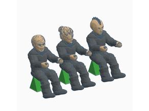 28mm Sitting Figures