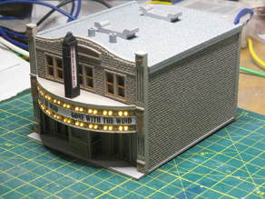 HO Scale Main Street Nine - Theater