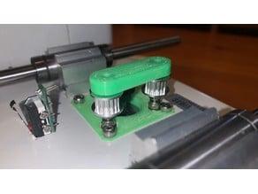 Monoprice Select Mini Y Axis Belt Guide Repare Fix 20-10-2020