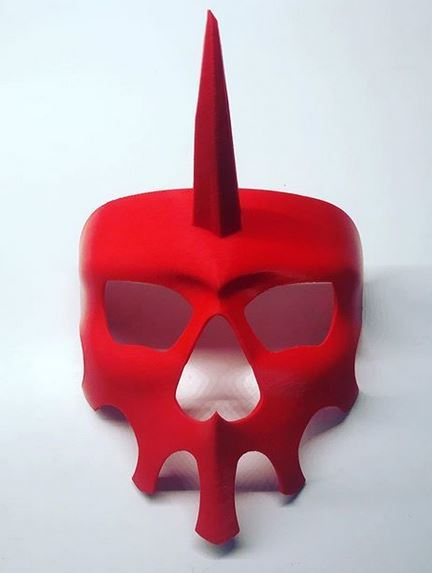 Rando Mask inspired by Lisa the Painful