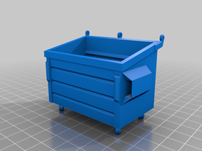 Dumpster without glue