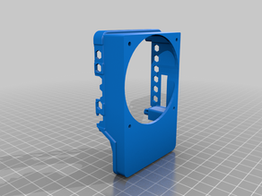 Raspberry Pi 2 & 3 Case with 60mm Fan and Space for Wires! Octoprint Ready!