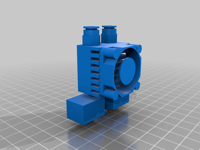 chimera nozzle 2 IN 2 OUT mockup