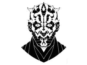 Darth Maul stencil 2