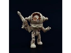 Armored Skeletal Zeta-Reticulan Minion