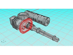 Rotary Autocannon For Smaller Knights