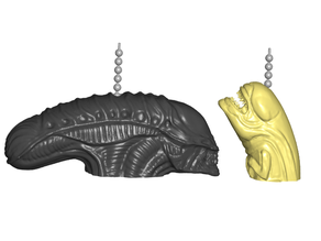 Alien Xenomorph | Chestburster Pull Ball Chain, Keychain Knob | Handle | Fob | Finials