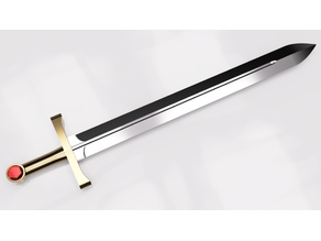 Jewel Hilt Broadsword | Dowel Core