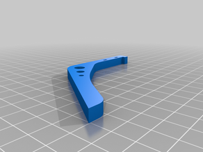 "A simple leg for 5"" quadcopter, just print 4 (or however many you need)"