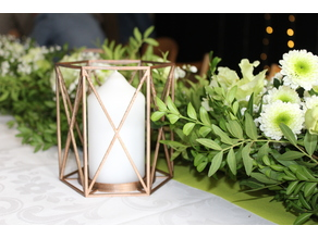 Various wedding candle holder
