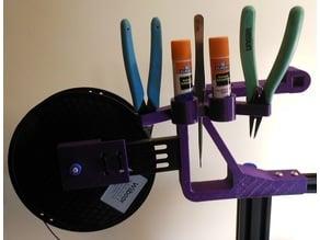 Ender 3 Cutter, Tweezer, Plyer, Glue Holder Adapter.