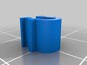 My Customized Cable clip for 2020 extrusion frame