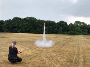 Retro Spacer - 3D Printed High Power Rocket