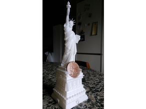 Coin Liberty Statue