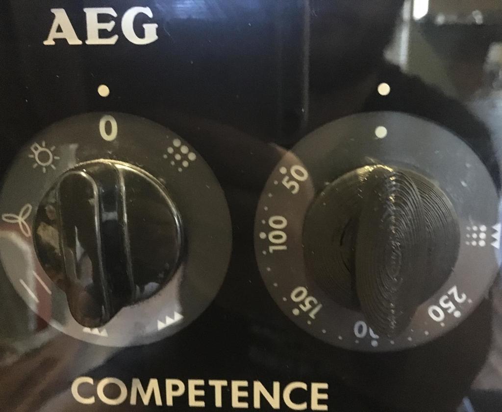 AEG Competence Oven / Stove Knob