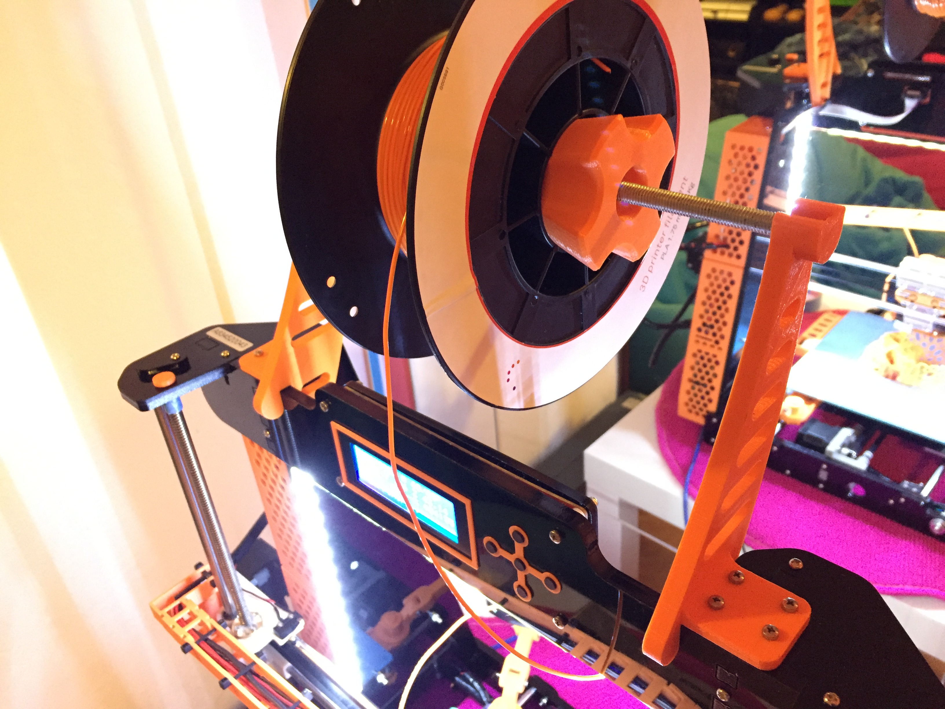 Anet A8 Quick-change filament spool holder by MrFreeZZ_PT
