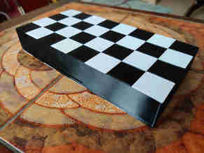 Chess board (2 part - box and lid)