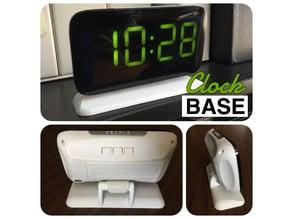 Clock Base for Voice Control LED Alarm Clock