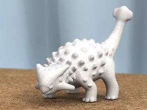 ankylosaurus -remodeled head-