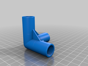 Reinforced Three Way Elbow Join v2