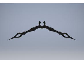 Clock Hand Mustache (Cogsworth)