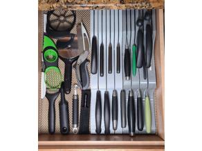 In Drawer Knife Rack (Organizer) (Knife Block)