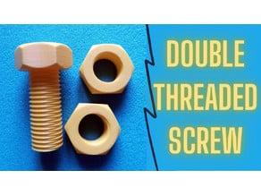 Double Threaded Screw