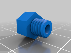 Ender3 filament guide from extruder construction into bowden [1.75mm]