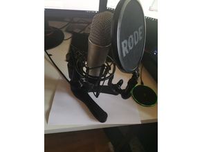 Rode Nt1a Microphone Desk Stand incl. Cable Routing